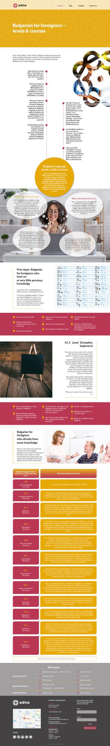 Σχεδιασμός ιστοσελίδας - Μακέτα 01